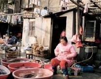 Street fish store