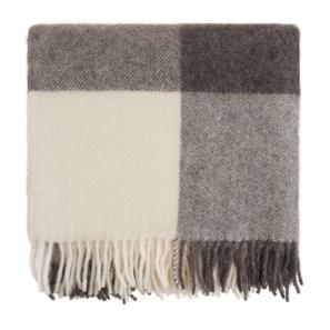charcoal-light-grey-cream-wool-blanket-saskatoon