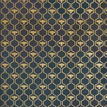 Barneby Gates Honey Bees Wallpaper