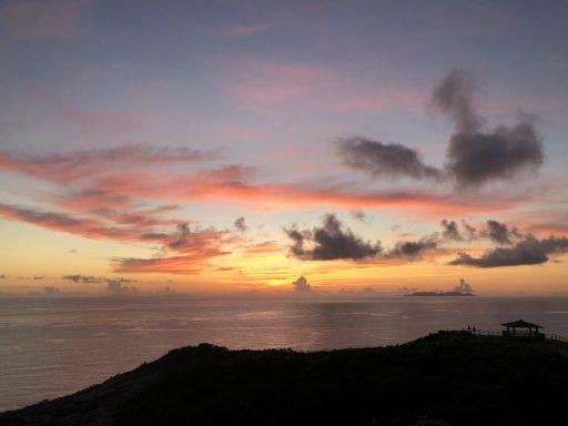 座間味島の夕焼け