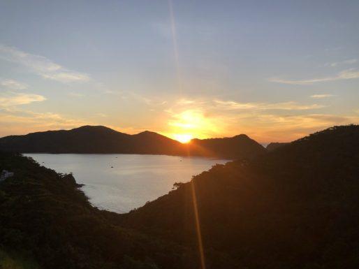 座間味島の日の出