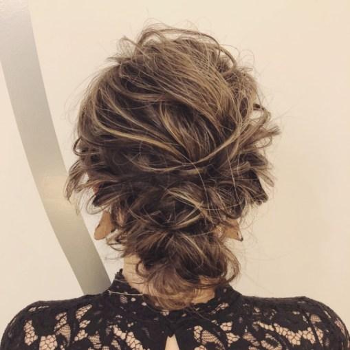 バレイヤージュのヘアスタイル