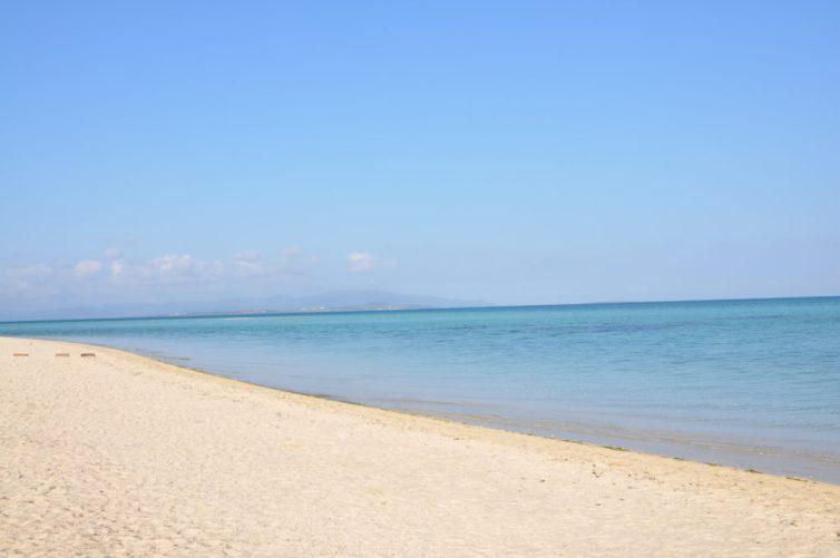 朝のコンドイビーチ