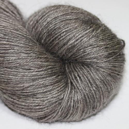The Knitting Goddess Totally British 4ply in 'Gunmetal'.