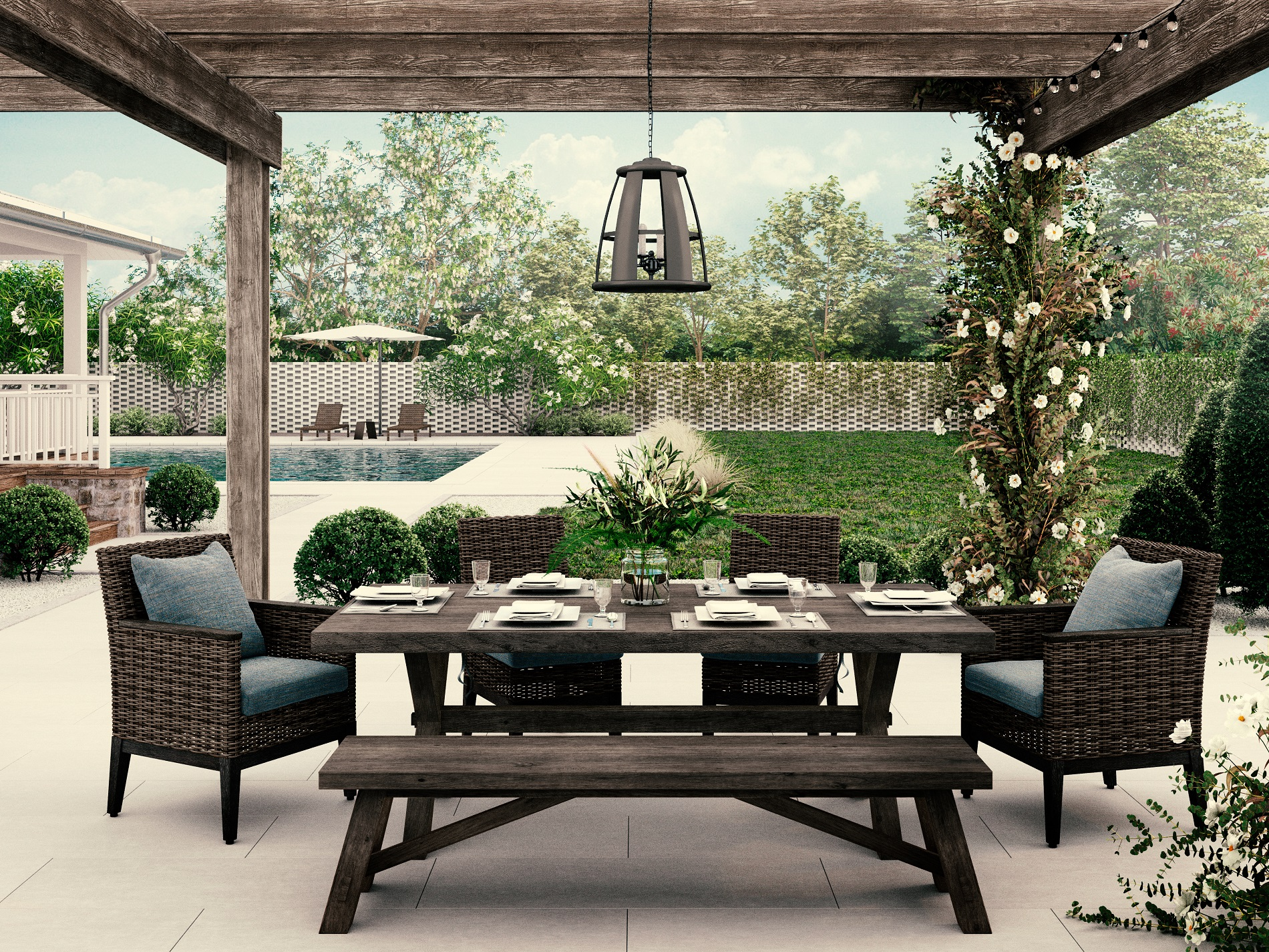 how to clean outdoor furniture shiny carpet cleaning