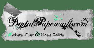 DigitalPapercrafts.com Paper Sticker