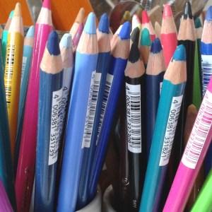 Art Supplies Chalk Pencils