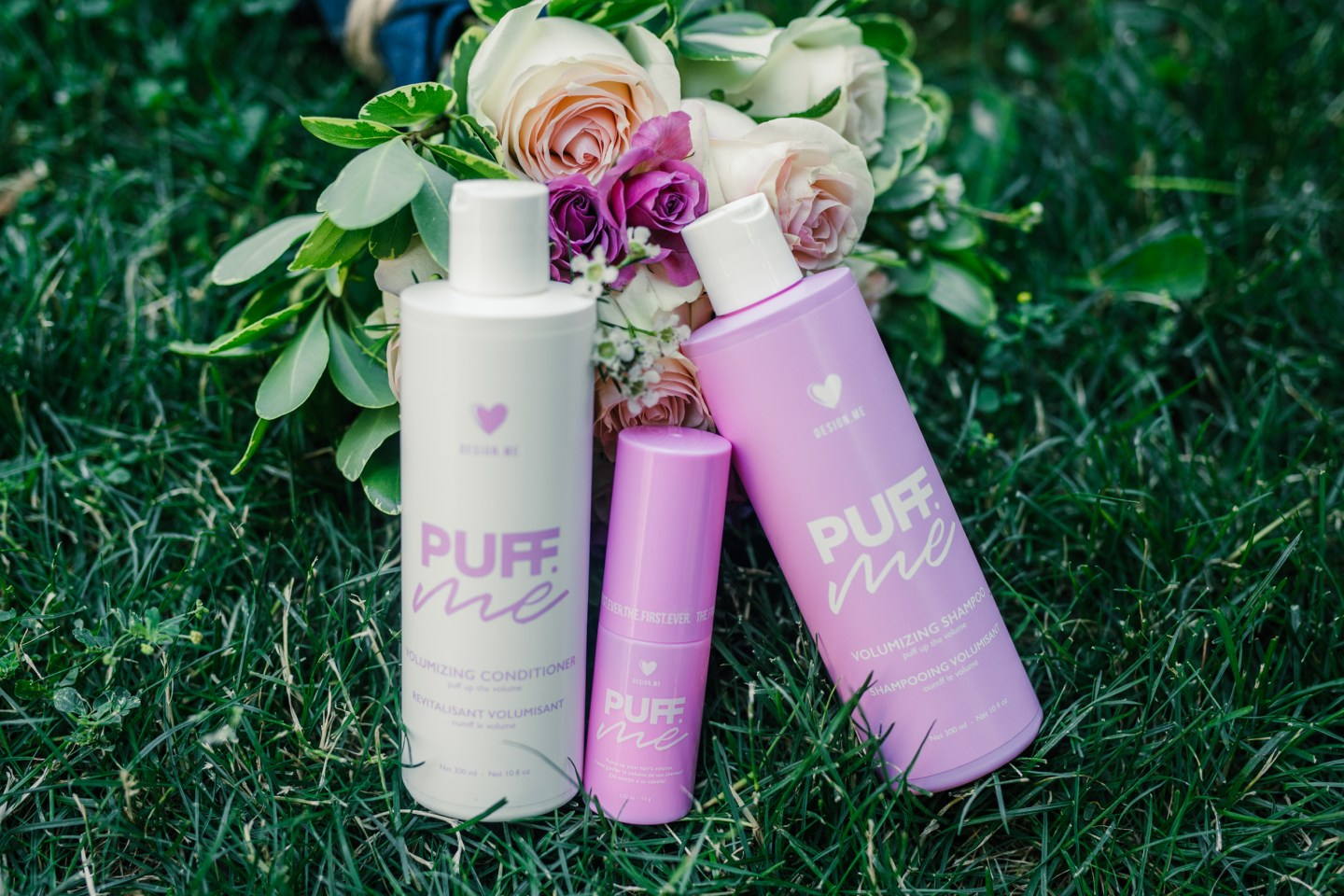 Review: Design.ME's Puff.ME Shampoo, Conditioner and Volumizing Powder  Spray