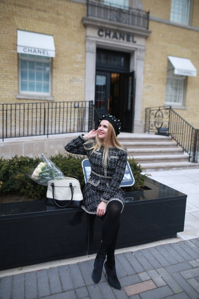 Chanel Inspired Look with SHEIN