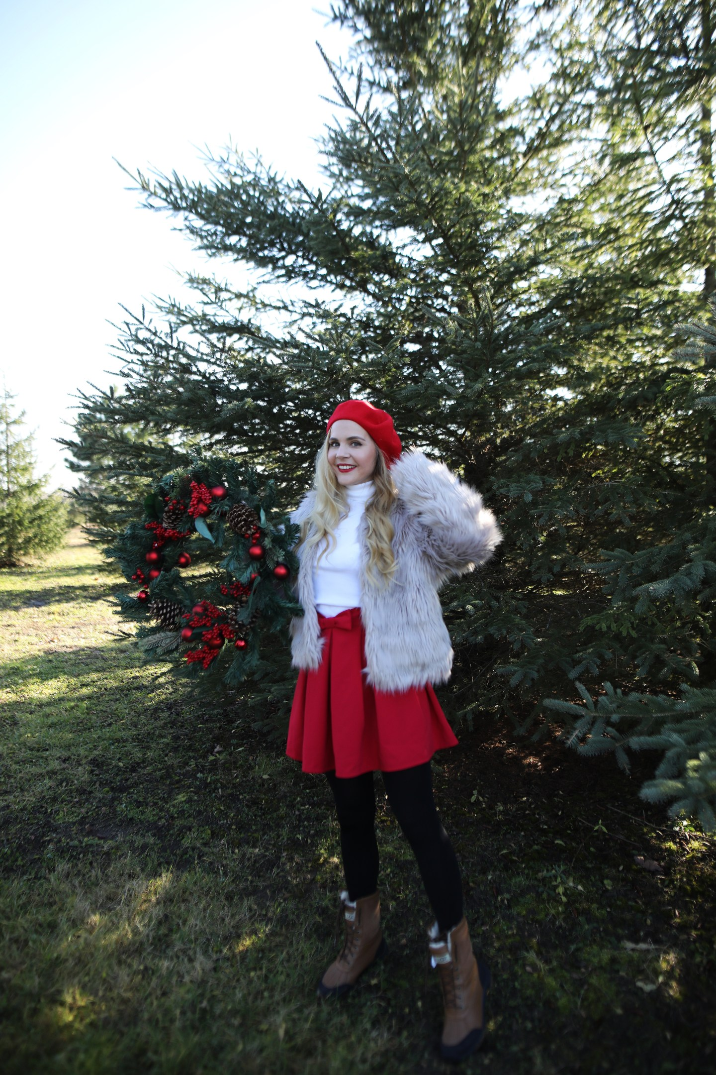 My First Trip To Christmas Tree Farm + What To Wear!