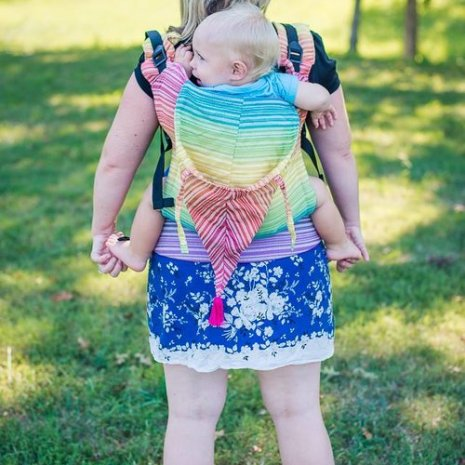 butterfly_baby_shiny_star_designs_sweet_shop_rainbow_full_buckle_wrap_conversion_babywearing_baby_carrier