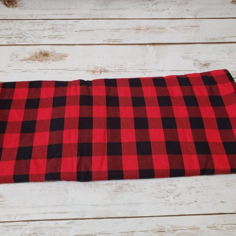 butterfly_baby_co_buffalo_plaid_woven_wrap_babywearing_red_black_budget_low_cost_affordable_baby_carrier_america_USA_toddler_wearing_ring_sling_wrap_conversion