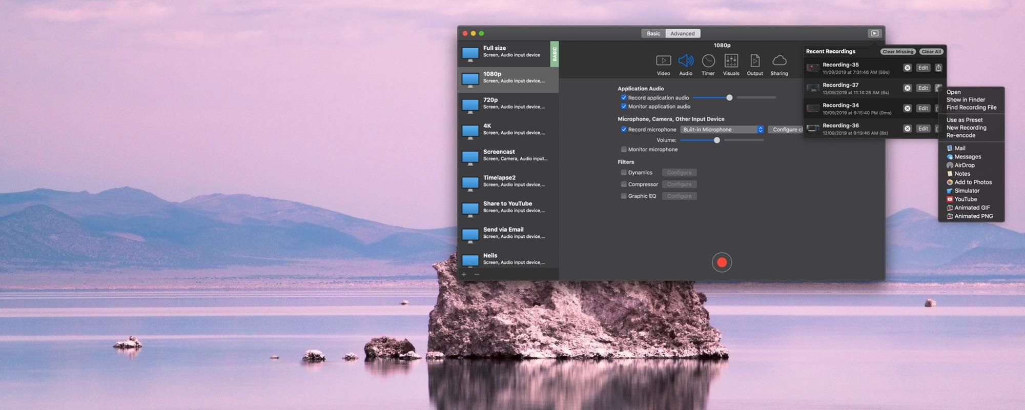 iShowU Instant Advanced 1.4.3 Mac 破解版 实时屏幕录制软件