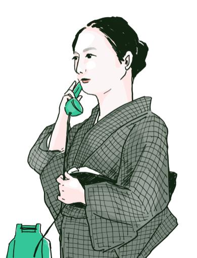 秋日和-原節子(personal illustration)