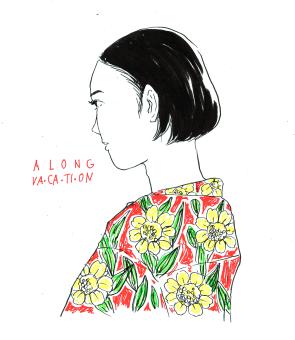 ALONGVACATION(personal illustration)