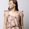 Printed Tiered Top Women