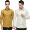 Nimegh Men Solid Casual Club Shirt