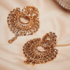Gold-Plated Crescent Shaped Handcrafted Chandbalis