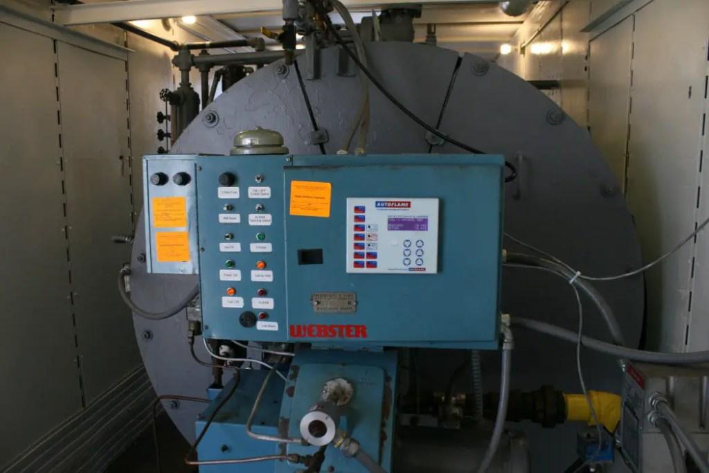 Boiler On ship