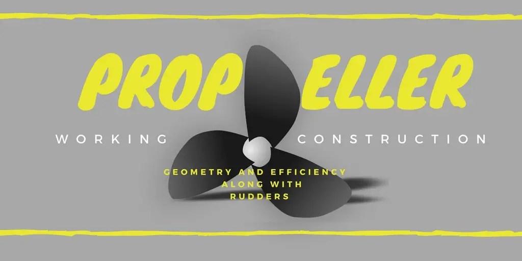 Propeller and Rudder Explanation