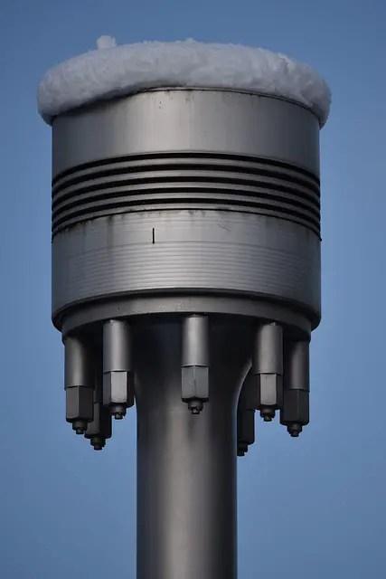 Marine diesel engine piston