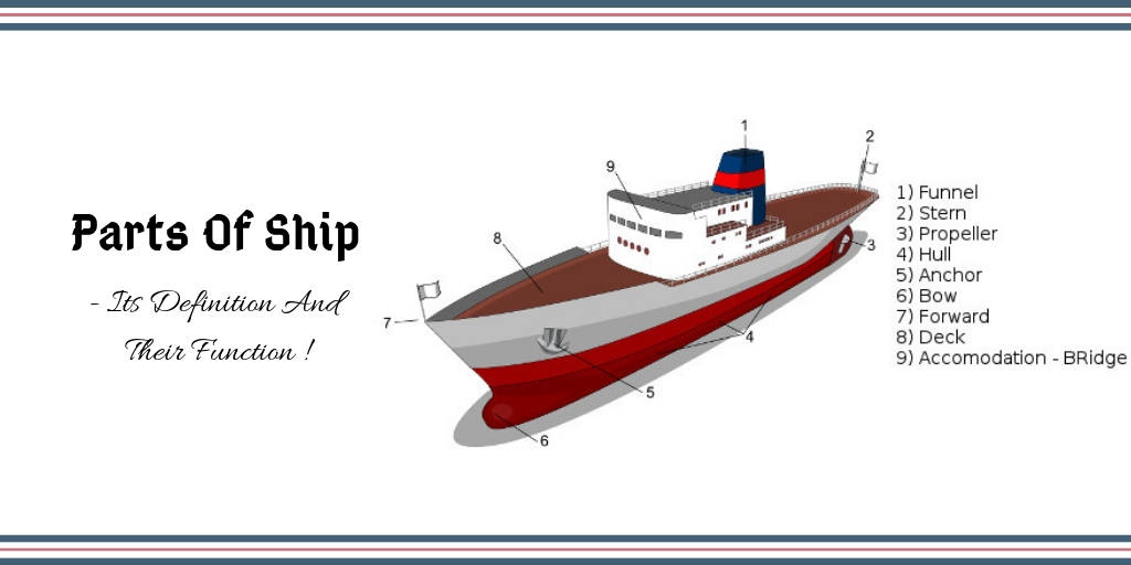 Parts of ship - Its Definition And Their Function