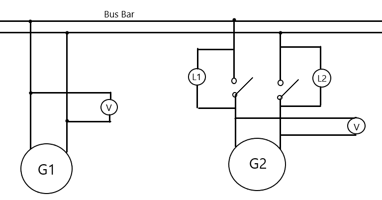 Single phase paralelling operation