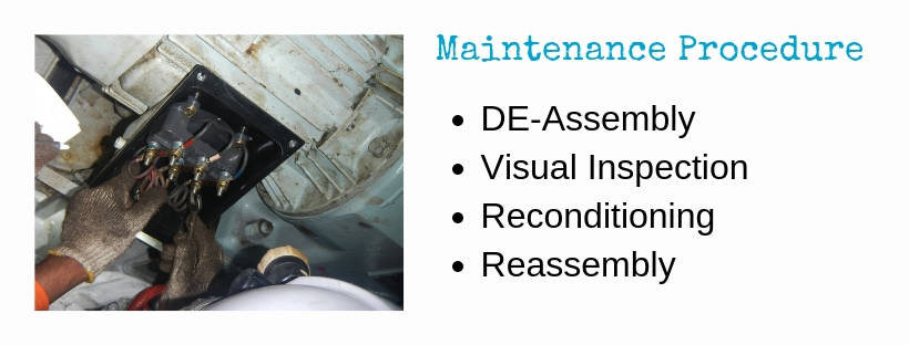 Requirements And Safety For Maintenance Procedure