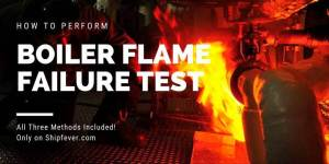 How To Perform Boiler Flame Failure Test