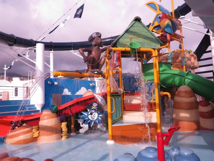 Doremi Castle Aqua Park for children