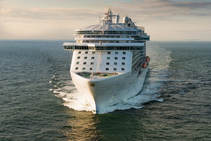 Coming home: Royal Princess (Picture: Princess Cruises)
