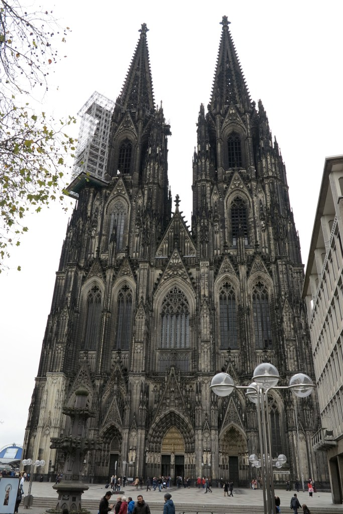 Imposing: The cathedral in Cologne