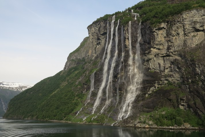 Sisters fall out: The Seven Sisters waterfall