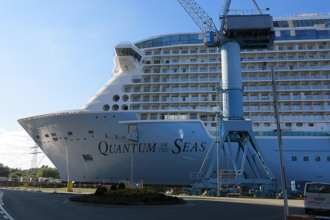 Here's one we made earlier: Quantum of the Seas is just months away from its launch