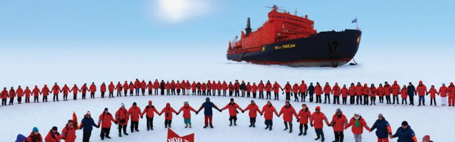 Adventure of a lifetime: the North Pole on an icebreaker (Picture: Captain's Choice)