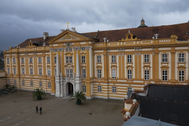Melk of human kindness: The abbey is still a working monastery