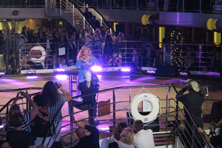 Bravo, Charo: The Love Boat star brought the house down with a guitar solo