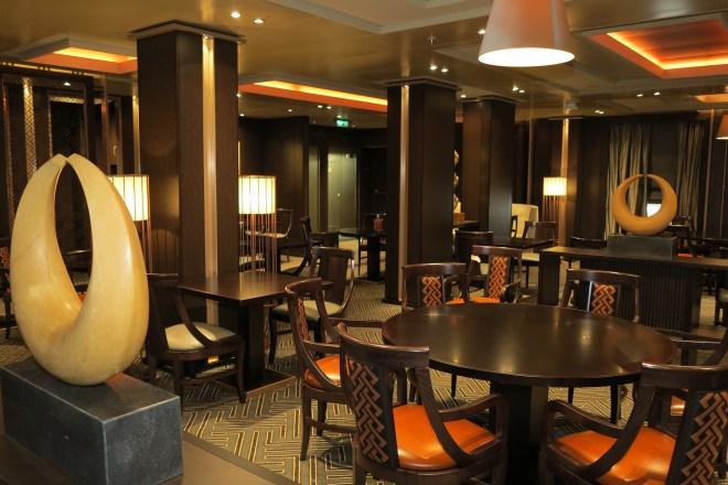 Spicy: The Sindhu Indian restaurant on board Britannia