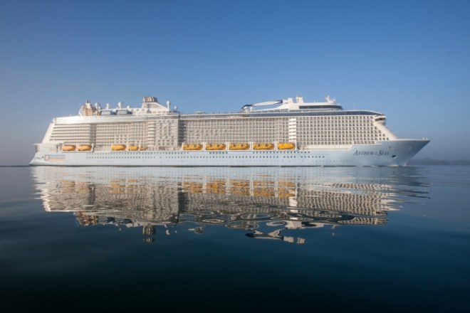 Game changer: Anthem of the Seas (Picture: Simon Brooke-Webb)
