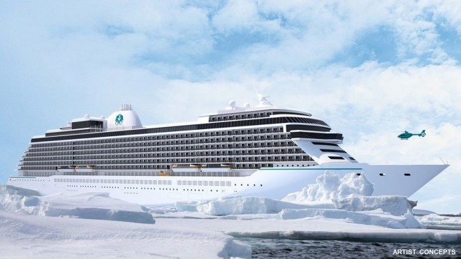 Breaking the ice: The new Exclusive class ships from Crystal (Picture: Crystal Cruises)
