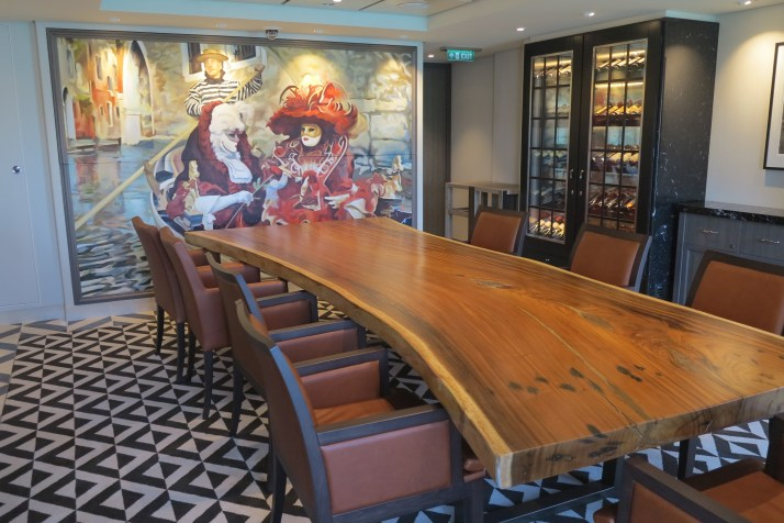 All yours: A private dining room