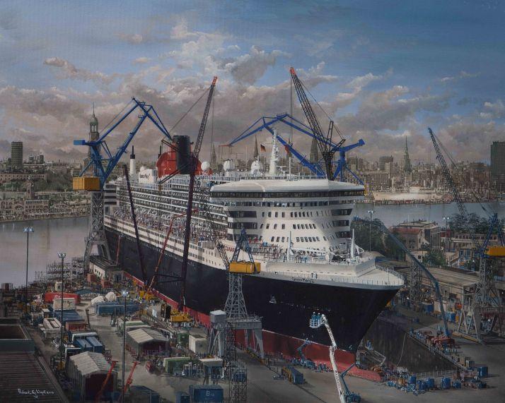 Queen Mary 2 Hamburg Refit 1mb-2