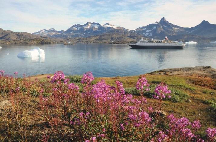 Boudicca in Tasiilaq, Greenland