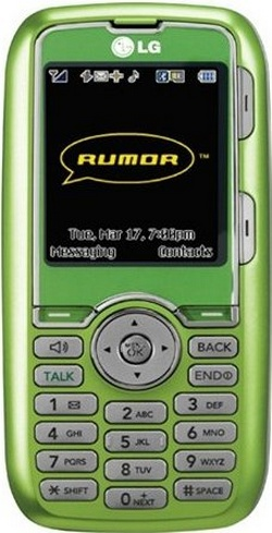 Sprint LG Rumor LX260 Green No Contract QWERTY 1 3MP Cell