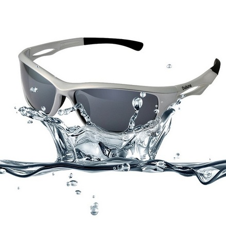 Polarized Sports Sunglasses for Running Cycling Fishing Golf Tr90 Unbreakable Frame