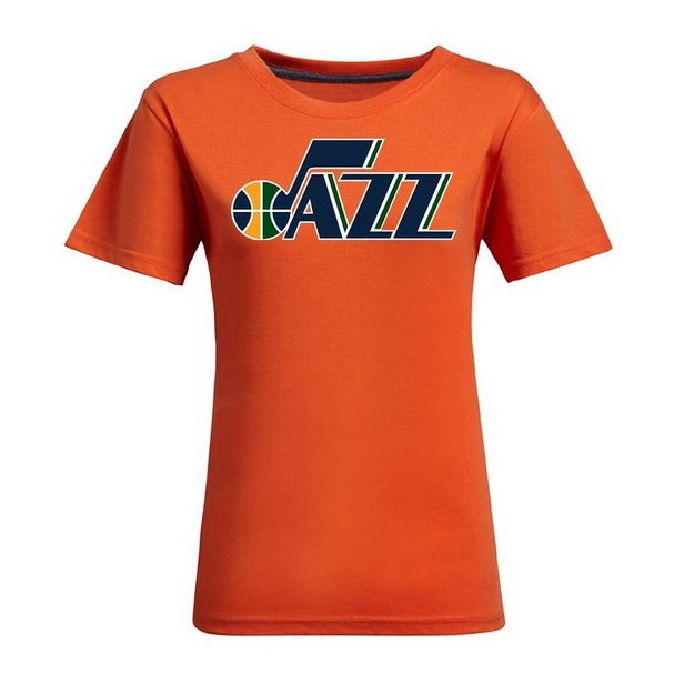 9ec177e93d1f NBA Utah Jazz Women s Jersey T-Shirt (Orange)