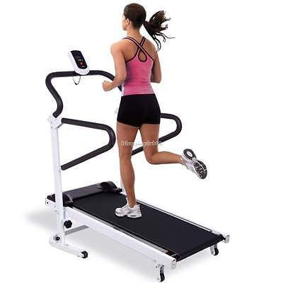 Home Gym Running Walking Treadmill Fitness Workout Lose Weight Machine US Stock