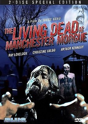 The Living Dead at the Manchester Morgue (DVD 2008 2-Disc Set)
