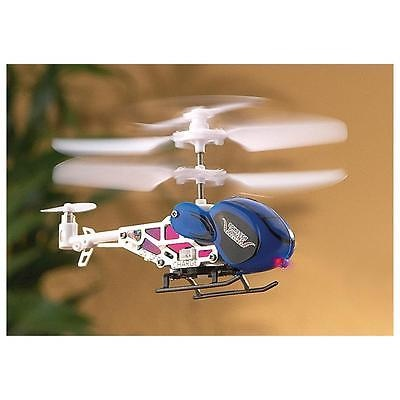 Quark ODY-7500 Micro Mini Remote Control Helicopter 3CH 2 Motor Toy New in Box