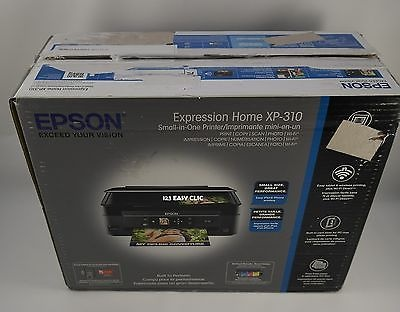 Epson WorkForce 310 All-In- Color Photo Printer with Scanner and Copier